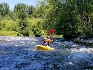 Clackamas River- Milo McIver Park Run