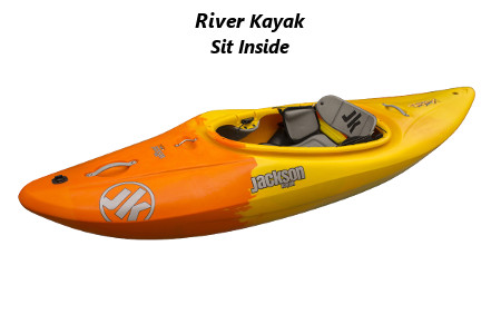 river kayak sit inside