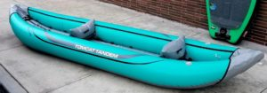 River Kayak: Tandem (2 per) Inflatable Rental - Outpost