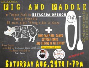 "Pig & Paddle Rentals ""Paddleboards"""