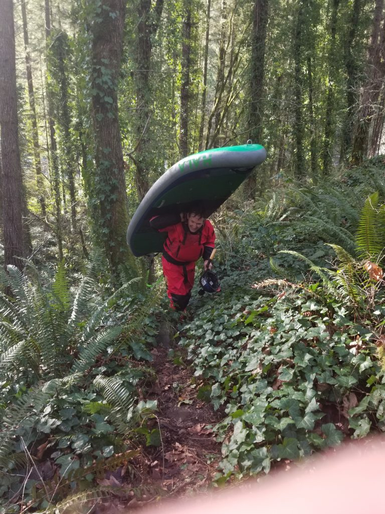 """The Cazadero Section of the Clackamas River """"The Unknown Run"""""""