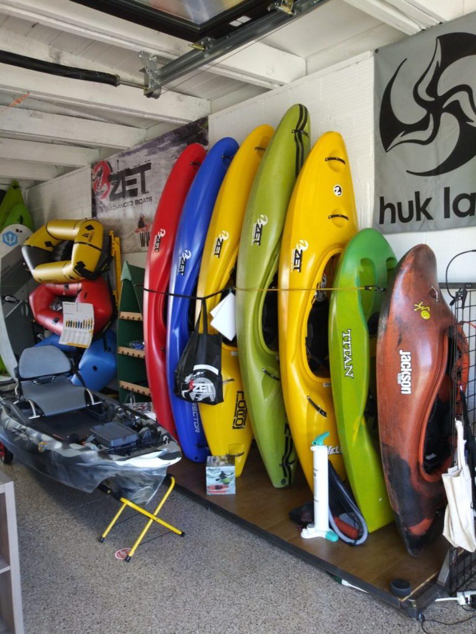 store kayaks