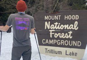 Mt Hood Graphic T-Shirt
