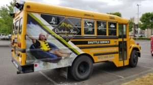 """Sunday """"Float & Ride"""" River Shuttle Schedule"""